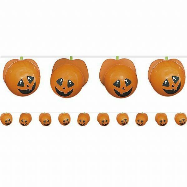 Halloween Make Your Own Pumpkin Balloon Garland 1.5m